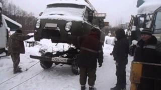 снятие кабины с рамы УАЗ буханка №2