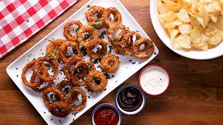 Potato Chip Onion Rings • Tasty