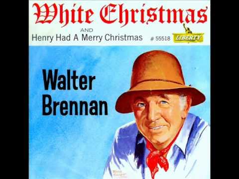 Walter Brennan - WHITE CHRISTMAS (1962) - YouTube
