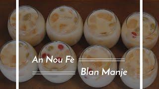 Haitian Recipes: Blan Manje   Haitian Coconut Fruit Dessert
