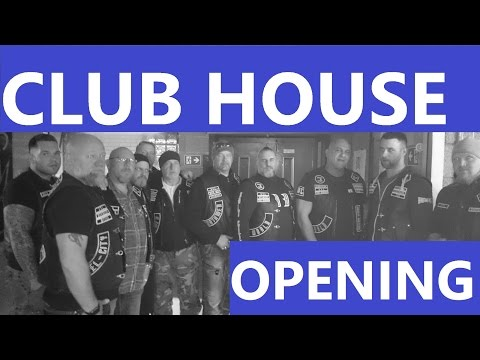 BROTHERS MC GERMANY Club House Opening in Duisburg Germany on 29 April 2017