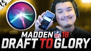 SIRI DRAFTS MY TEAM! THE CURSE IS BROKEN! - MUT Draft To Glory Episode #5 thumbnail