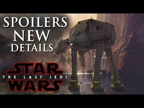 Star Wars The Last Jedi Spoilers! New Details Of Gorilla Walkers