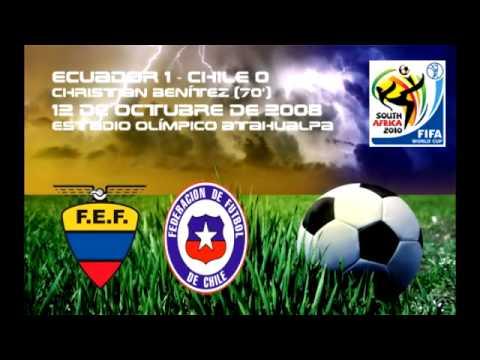 Ecuador vs. Chile en la Historia - FUTBOL PRESS