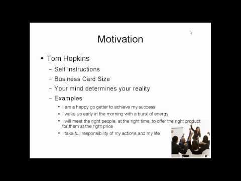 Goal Setting Motivation Daily Marketing and Sales