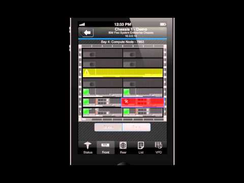 IBM Flex System Manager Mobile Access - Demo