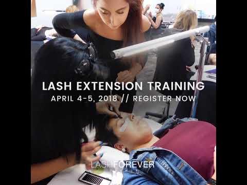 lash extensions april 4 5