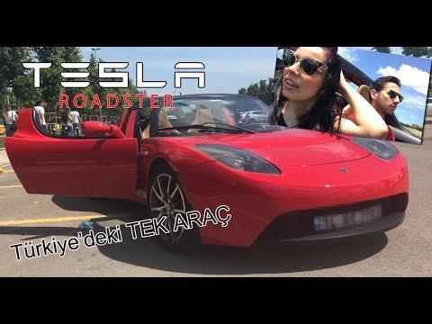 Tesla Roadster İnceleme (Türkiye'de TEK ARAÇ)