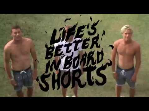 #LifesBetterInBoardshorts - The Fall 2017 Collection