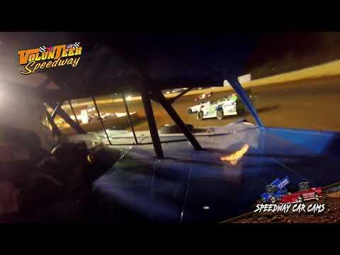 #2 Terry Poore - Crate Late Model - 9-7-19 Volunteer Speedway - In-Car Camera