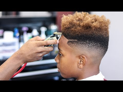 freshest haircut tutorial mid bald fade curl sponge w side p