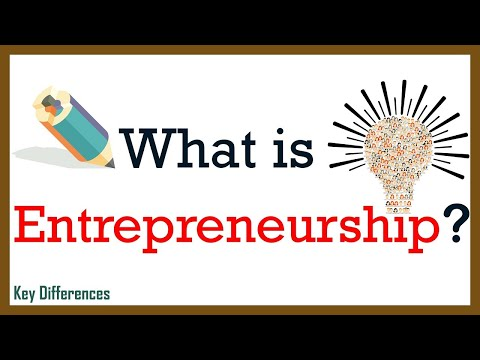 What is Entrepreneurship? definition, characteristics and entrepreneurial process