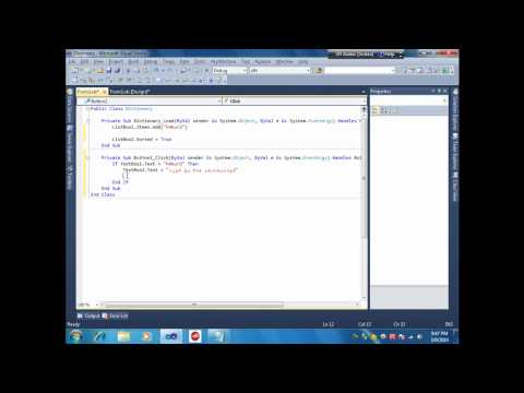 How to make Dictionary With Visual Studio 2010