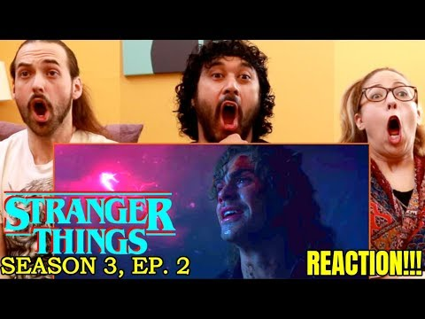 STRANGER THINGS   Season 3 'Chapter Two: The Mall Rats'   REACTION!!!