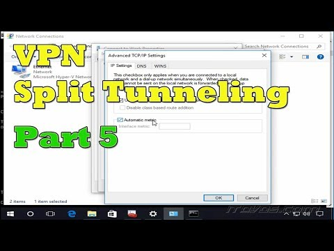 Configuring and Troubleshooting VPN Split Tunneling on Windows 10 - Part 2