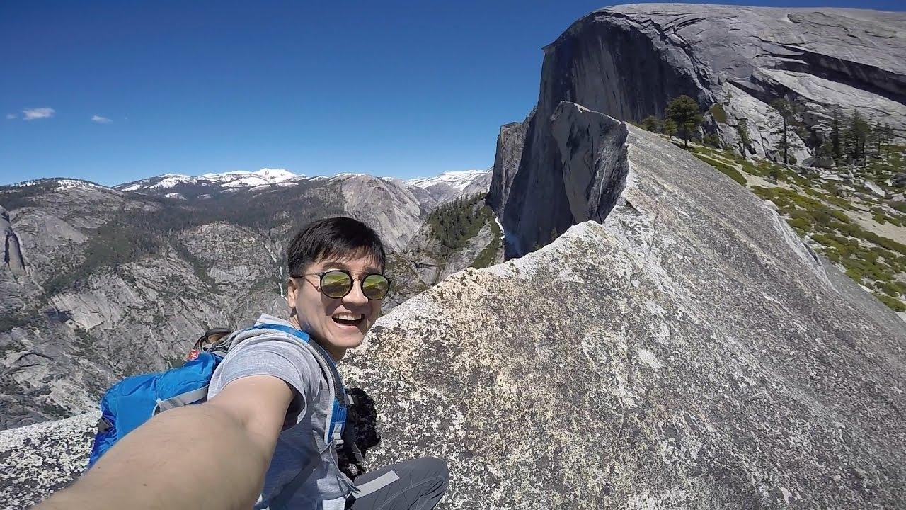 Hiking Yosemite Half Dome Diving Board Youtube