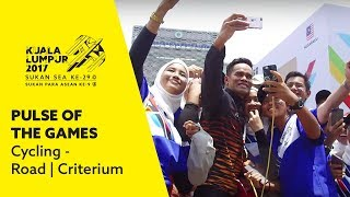 Gambar cover Pulse of the Games - Harrif Salleh (Cycling - Road | Criterium)