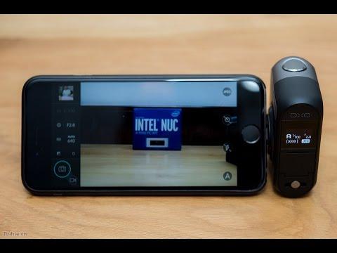Trên tay máy ảnh DXO One cho iPhone, iPad