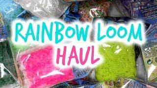 Rainbow Loom Rubber Bands Haul