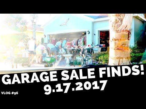 GARAGE SALE FINDS! - Saturday Yard Sale eBay Buys! Clothes, Shoes & MORE! | RALLI ROOTS VLOG #96