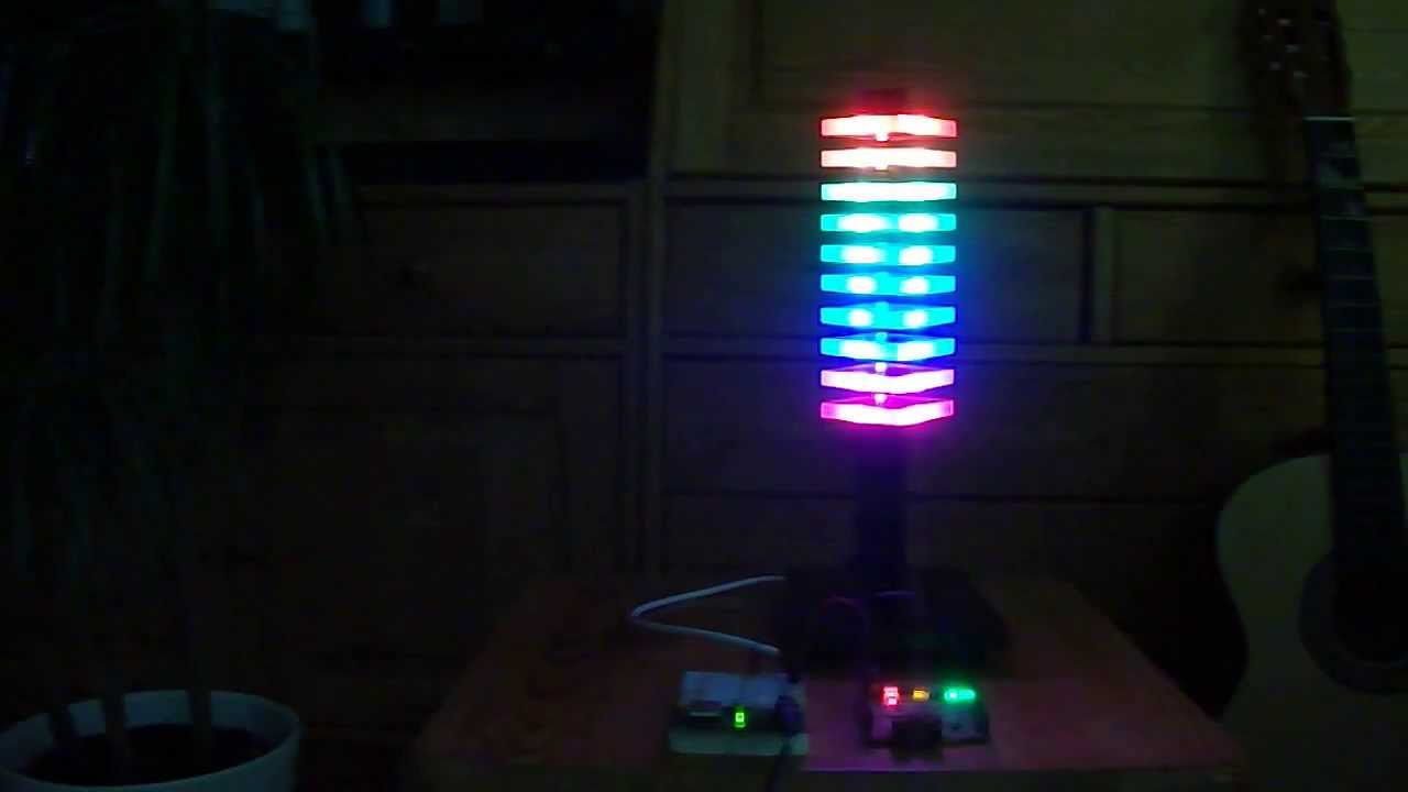 Cool mood light with an Arduino, a digital RGB LED strip ...