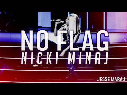 Nicki Minaj - No Flag (Verse - Lyrics Video)