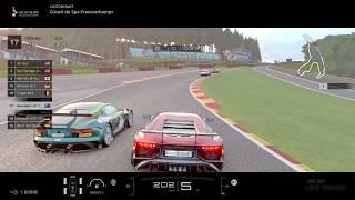 GT SPORT Lamborghini Aventador LP 750-4 SV @ Spa-Francorchamps - chase cam