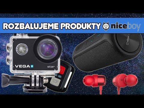 První pohled: Niceboy RAZE 🎵 & VEGA 6 Star 🎥 & HIVE E2 🎧