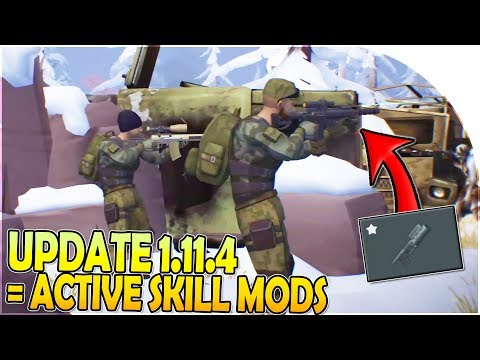 UPDATE 1.11.4 = ACTIVE SKILL MODS - OUTPOST UPDATE is *HUGE* - Last Day on Earth Survival 1.11.3