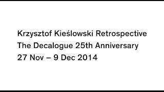 Krzysztof Kieślowski Retrospective at ICA - Trailer