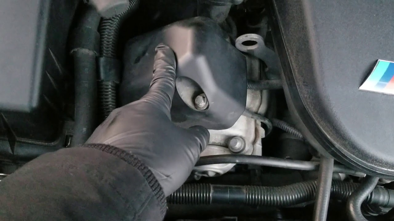 BMW E60 & E63 M5 & M6 S85 Camshaft Position Sensor P0340 Replacement DIY