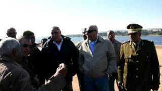 محافظ أسوان يتفقد أعمال تطوير كورنيش النيل الجديد.. فيديو وصور