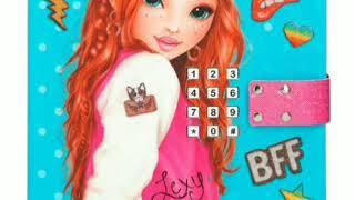    TOPModel Çizimleri    Sweet Secrets Book    Top Secrets    Diary Book   