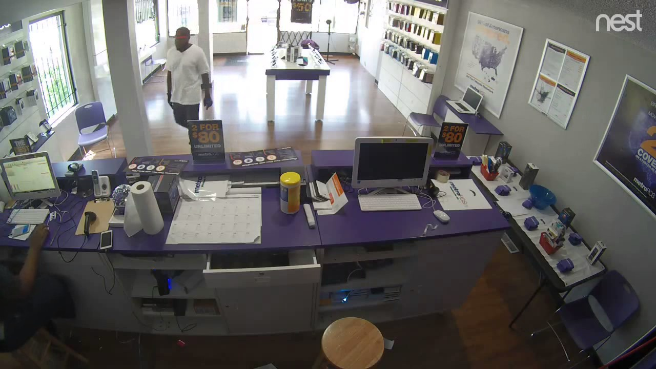 Suspect Wanted For Three Metro Pcs Robberies