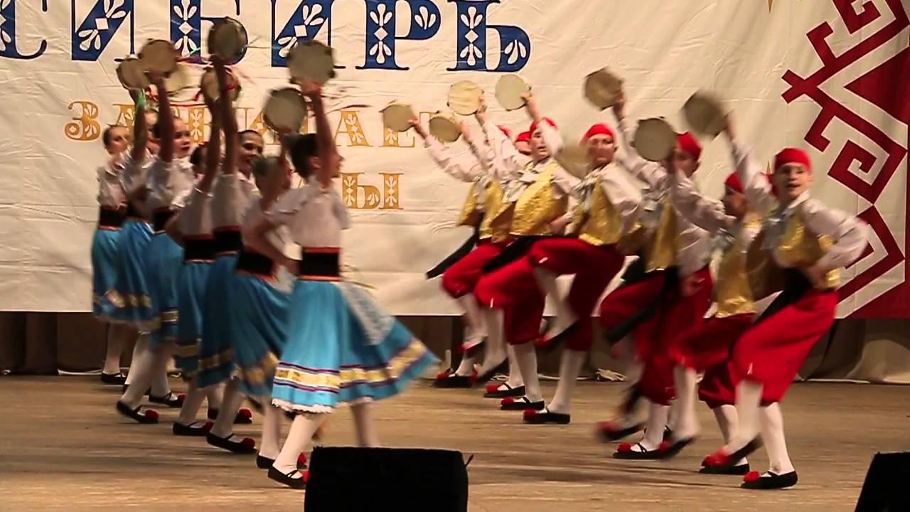 Сибирь зажигает звёзды - Итальянский танец Тарантелла