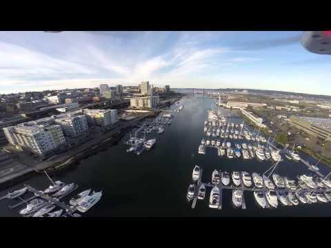 Nice Sunny Day In Foss Harbor Marina Tacoma Wa