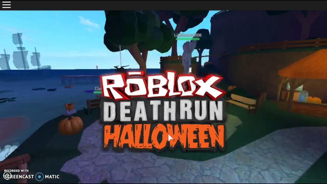 Roblox Deathrun Halloween Intro Youtube