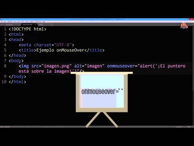 11.- Curso de JavaScript para principiantes. Crear un Rollover de Imágenes.