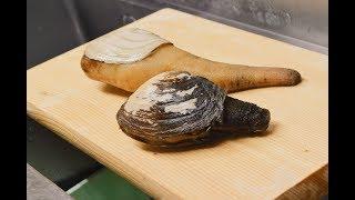 寿司職人によるミル貝の仕込みから握りまで〜How To Make Sushi Series〜