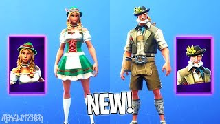 NOUVEAUX SKINS LUDWIG & HEIDI (New Oktoberfest Skins) ! Fortnite Battle Royale