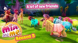 A lot of new friends - Mia and me - Season 3