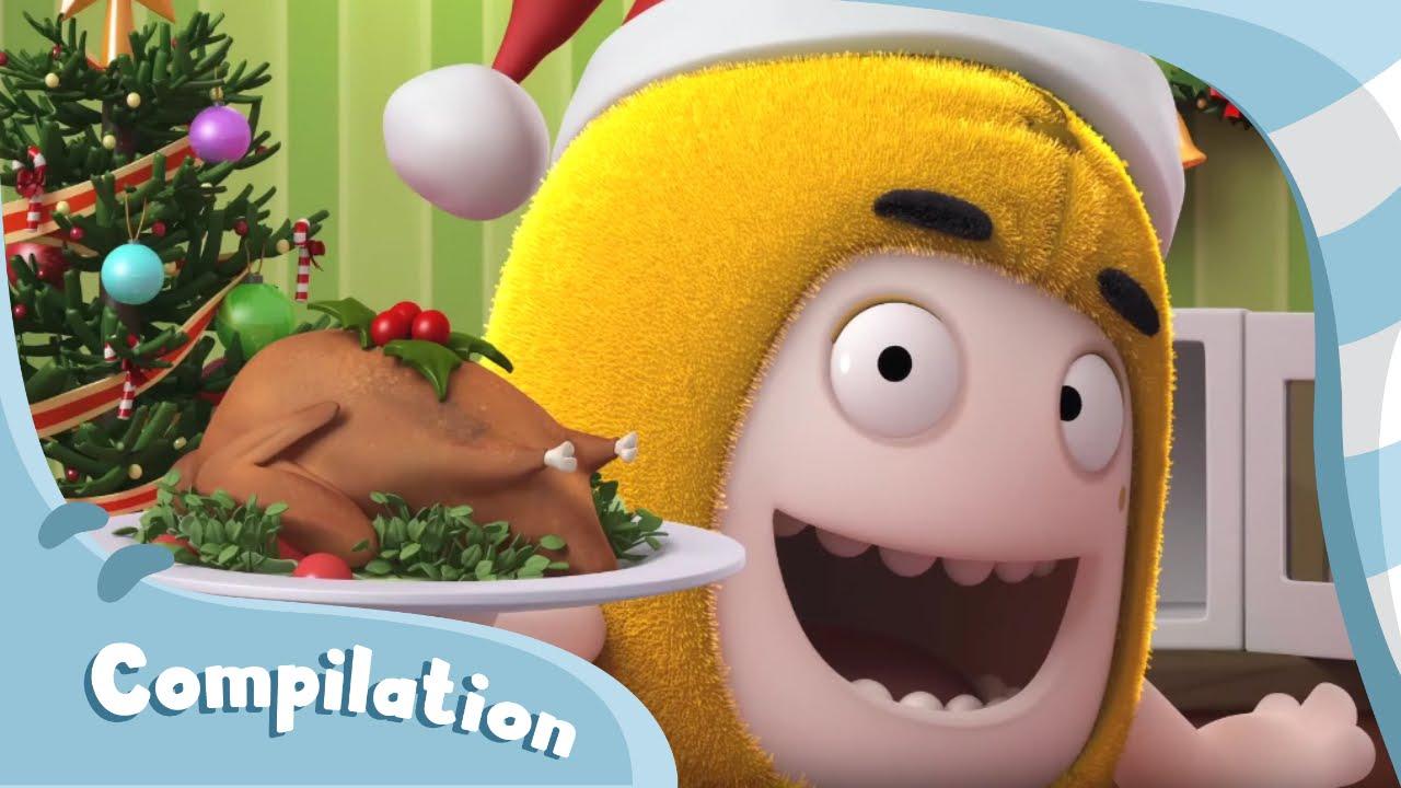 Oddbods Christmas Compilation