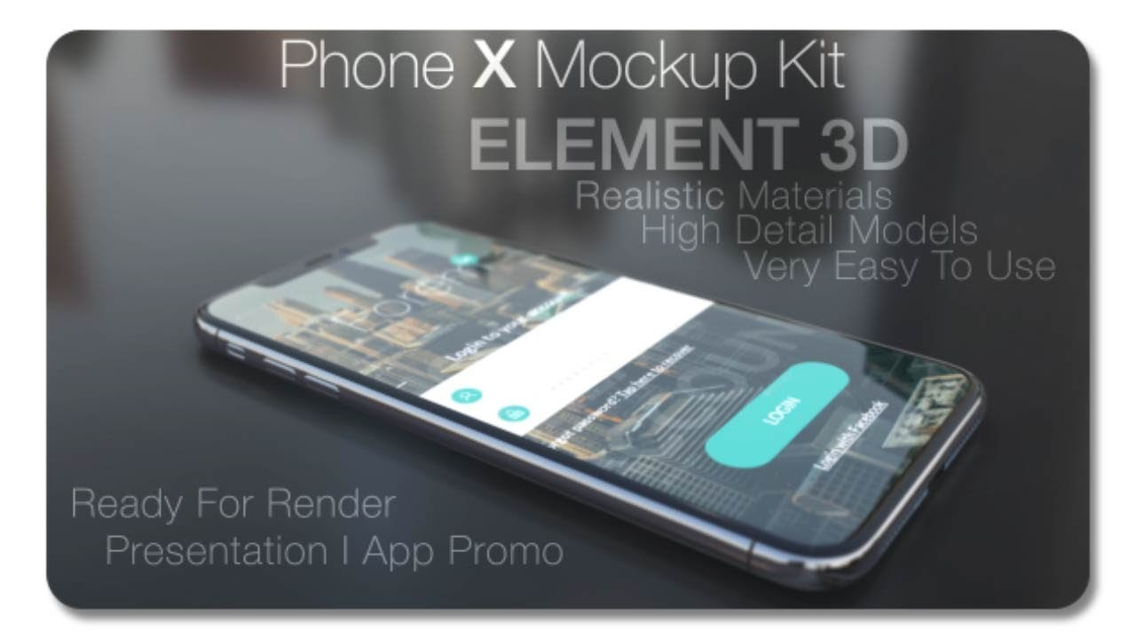 phone x mockup kit 20758516 after effects template youtube