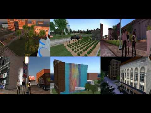 Detroit Design Festival 2012 3dcolab Virtual Reality Event