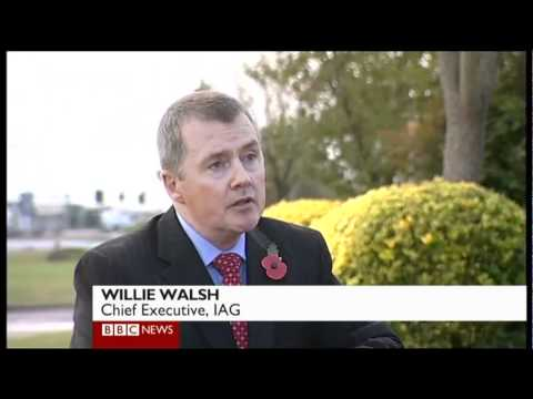 IAG to buy BMI - BBC News at One with Willie Walsh, Styeve Ridgeway and Simon Calder