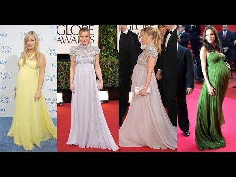 07ba9f3df Lindos Modelos de Vestido de Gestante Para Festa - YouTube