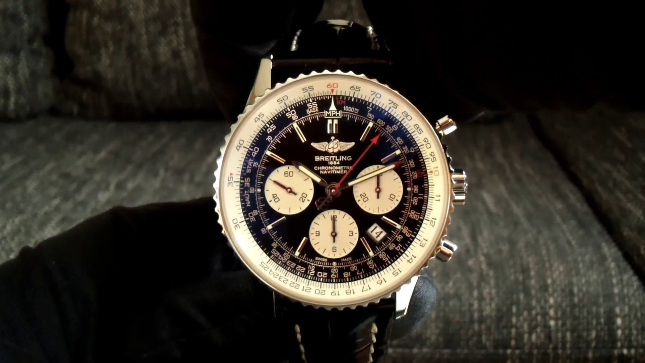 059b128b Breitling Navitimer 01 Limited Edition - YouTube