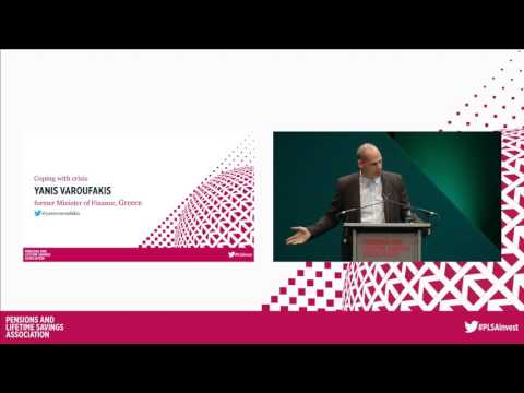 Coping with crisis. Yanis Varoufakis. Plenary 11 at PLSA Investment Conference 2016