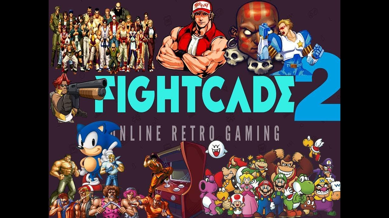 FIGHTCADE 2 - emulador + todas Rooms- via Torrent - (LIVE DE QUARTA
