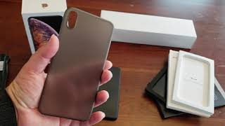 [UNBOXING & FIRST IMPRESSIONS] Peel Ultra-Thin Cases for the Apple iPhone XS Max